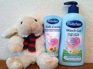 Средства по уходу за кожей ребёнка после купания