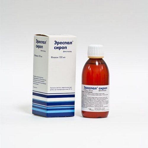 Эреспал сироп от кашля фото