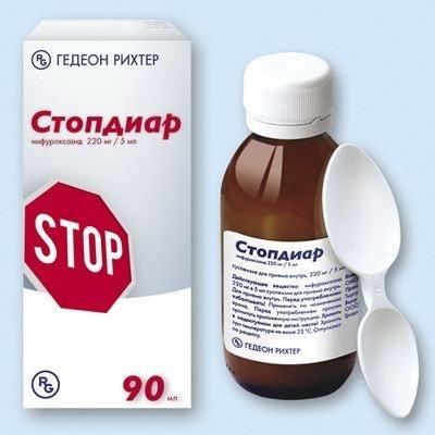 Стопдиар суспензия и таблетки для детей: инструкция по применению