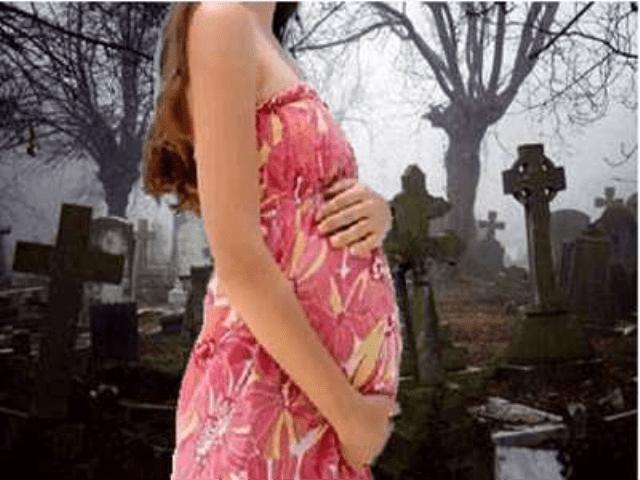 Беременные на похоронах примета 30
