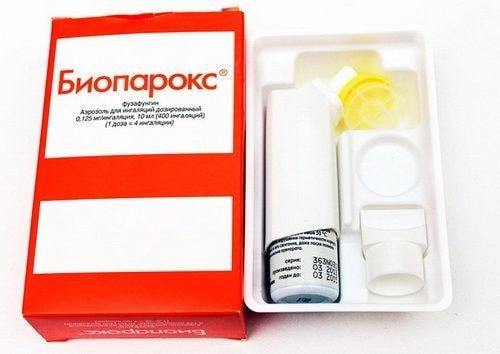 Биопарокс: инструкция по применению, цена, отзывы, аналоги