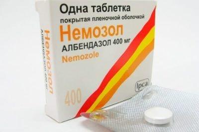 Немозол: инструкция по применению таблеток, аналоги, отзывы