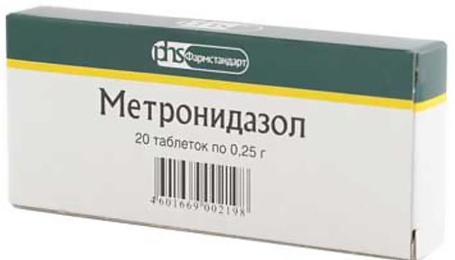 Метронидазол: инструкция по применению фото