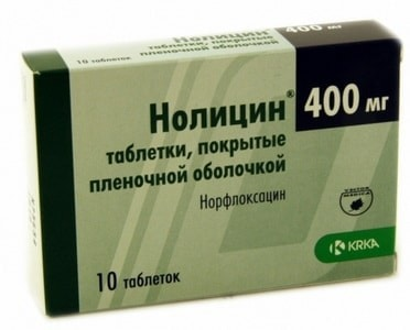 Нолицин: инструкция по применению фото