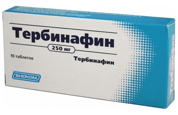 Тербинафин: инструкция по применению фото