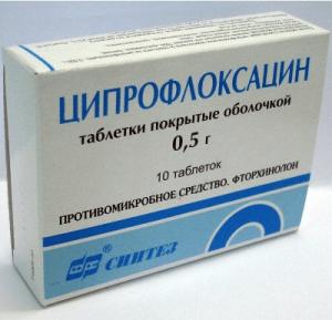 Ципрофлоксацин: инструкция по применению фото