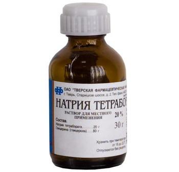 Натрия тетраборат - официальная инструкция по применению, аналоги
