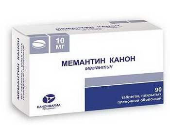 Мемантин (Memantinum)- описание вещества, инструкция, применение, противопоказания и формула.