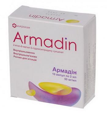Армадин таблетки, уколы, армадин лонг: инструкция по применению.