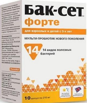 Бак-Сет форте инструкция по применению (таблетки) ✔️ WebApteka.info