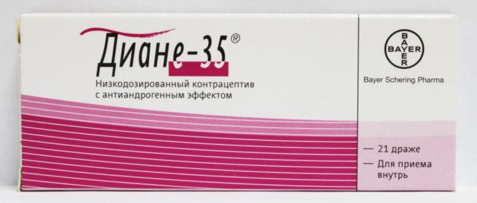 Диане-35: инструкция по применению, цена, отзывы, аналоги