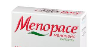Менопейс: инструкция по применению, цена, отзывы, аналоги