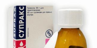 Супракс: инструкция по применению таблеток, цена, отзывы, аналоги