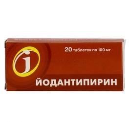 Йодантипирин: инструкция по применению, цена, отзывы, аналоги