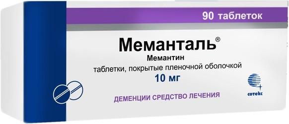 Меманталь: инструкция по применению, цена, отзывы, аналоги