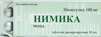Нимика: инструкция по применению, цена, отзывы, аналоги