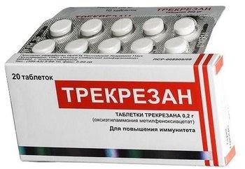 Трекрезан цена в Томске от 325 руб., купить Трекрезан, отзывы и инструкция по применению
